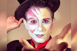 magico ilusionista lucas maquiagem artistica