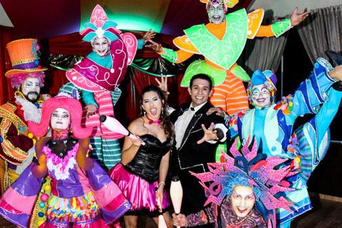 ilusionista magico lucas proximidade festa circo